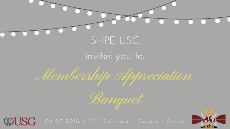 Membership Appreciation Banquet BIGGER